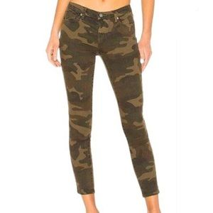 Blank NYC The Reade Crop Skinny Camo Jeans